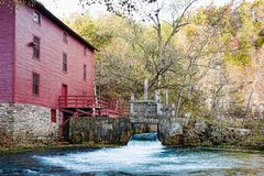 Alley spring mill house royalty free stock image