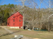 Alley Springs Mill Royalty Free Stock Photo