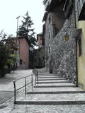 Alley and stairs Stock Photography