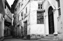 Alley, Stone Town, Zanzibar #2 Stock Images