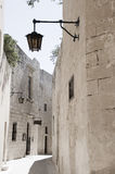 Alley street ancient architecture mdina malta Stock Photography