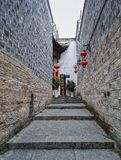 Alley street in old town 4. This is the old alley street view in zhenyuan, guizhou Stock Images