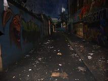 Alley, Street, Road, Night stock photo