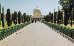 Alley to the great example of Mughal architecture, building of Tipu Sultan Gumbazigh Stock Photography