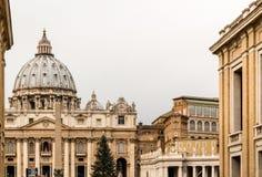 Alley to Saint Peter, Basilica Royalty Free Stock Photos