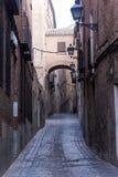 Alley in toledo Stock Photos