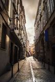 Alley in Toulouse stock images