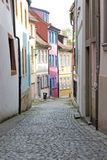 Alley in the town of Bamberg, Germany Stock Image