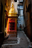 Alley in Varanasi Royalty Free Stock Photos