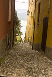 Alley in Varenna, Italy Stock Images