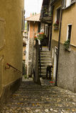 Alley in Varenna, Italy Royalty Free Stock Photo