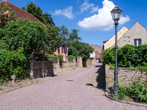 Alley in werder (havel) Stock Photography