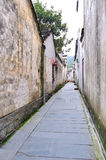 The alley in Xidi Village Royalty Free Stock Photos
