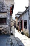 The alley in Xidi Village Stock Photos