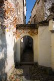The alleys of the ancient village in the south of anhui stock image