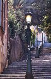 Alleys of Bastia Corsica France Royalty Free Stock Photography