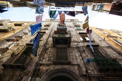 Alleys of Naples Royalty Free Stock Photos