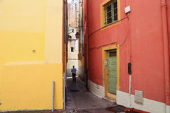In the alleys of Old Nice Royalty Free Stock Photos