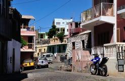 Alleys of Sao Filipe Royalty Free Stock Image