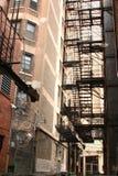 Alleyway Fotografia Stock Libera da Diritti