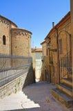 alleyway Acerenza Basilicata Italië Royalty-vrije Stock Afbeeldingen