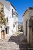 Alleyway. Acerenza. Basilicata. Italy. Royalty Free Stock Photos