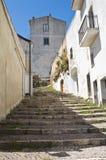 Alleyway. Acerenza. Basilicata. Italy. Stock Photo