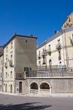 Alleyway. Acerenza. Basilicata. Italy. Stock Photos