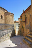Alleyway. Acerenza. Basilicata. Italy. Royalty Free Stock Images