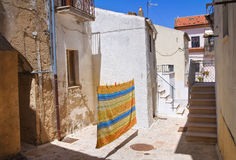 Alleyway. Acerenza. Basilicata. Italy. Royalty Free Stock Photography