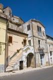 Alleyway. Acerenza. Basilicata. Italy. Stock Image
