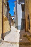 alleyway Acerenza La Basilicata L'Italia Fotografia Stock