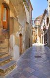 alleyway Acerenza La Basilicata L'Italia Fotografie Stock