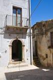 alleyway Acerenza La Basilicata L'Italia Immagine Stock