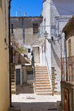 alleyway Acerenza La Basilicata L'Italia Fotografie Stock Libere da Diritti