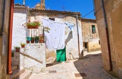alleyway Acerenza La Basilicata L'Italia Immagini Stock Libere da Diritti