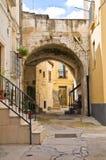 alleyway Altamura La Puglia L'Italia Fotografie Stock Libere da Diritti