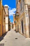 alleyway Altamura La Puglia L'Italia Fotografia Stock