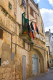 alleyway Altamura La Puglia L'Italia Fotografia Stock Libera da Diritti