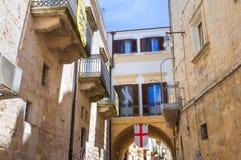 alleyway Altamura La Puglia L'Italia Fotografie Stock