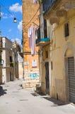 alleyway Altamura La Puglia L'Italia Immagine Stock Libera da Diritti