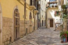 alleyway Altamura Puglia Italië royalty-vrije stock afbeelding