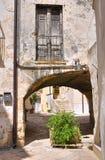 alleyway Altamura Puglia Italië stock afbeelding