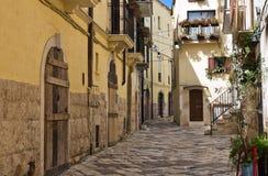 alleyway Altamura Puglia Italia Imagen de archivo