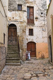 Alleyway. Altamura. Puglia. Italy. Stock Photos