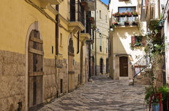 Alleyway. Altamura. Puglia. Italy. Stock Image