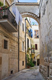 Alleyway. Altamura. Puglia. Italy. Stock Photo