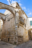 Alleyway. Altamura. Puglia. Italy. Royalty Free Stock Images