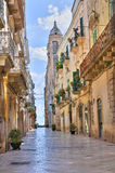 Alleyway. Altamura. Puglia. Italy. Royalty Free Stock Photography