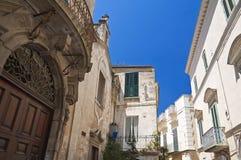 Alleyway. Altamura. Puglia. Italy. Royalty Free Stock Image